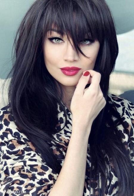 مدل مو حالت گرفته , مدل مو باز شیک مجلسی , مدل مو باز دخترانه مجلسی