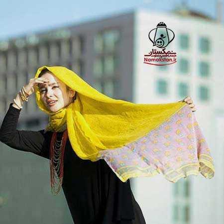 عکس دیده نشده از گریم دیدنی الناز حبیبی
