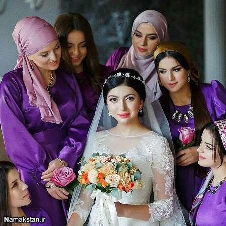 فیگور و ژست عروس,انواع فیگور و ژست عروس,عکس فیگور و ژست عروس